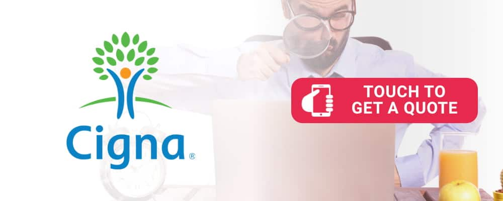 Cigma logo is selling health insurance. Touch to call.